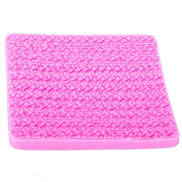 Knitted Texture Silicone Mold