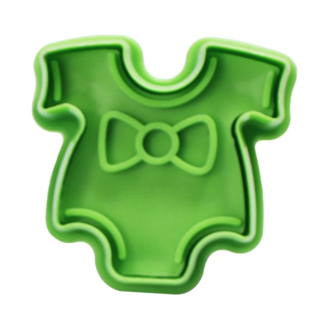 Cute Multifunctional Baby Styled Plastic Cookie Cutters Set