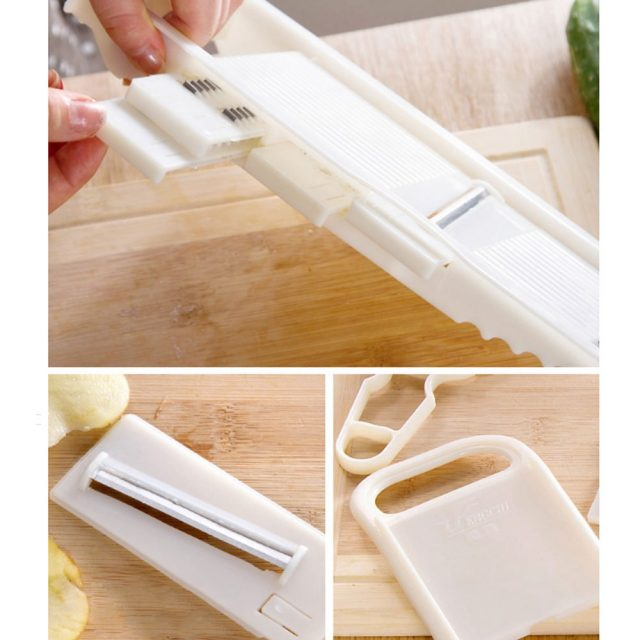 5 in 1 Multifunctional Stainless Steel Grater