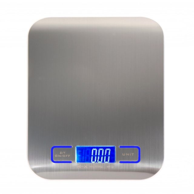 Multifunction Digital Kitchen Scale with LCD Display