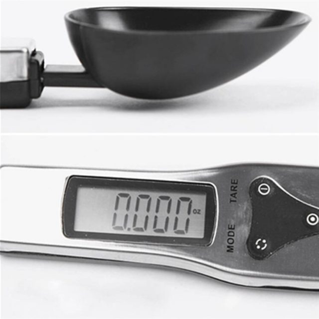Portable LCD Digital Kitchen Measuring Spoon Scale