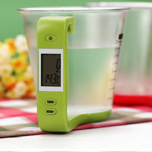 Digital Electronic Measuring Cup for Food Ingredients