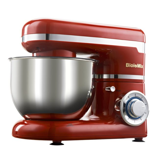 1200W 4L 6-Speed Electric Mixer Set