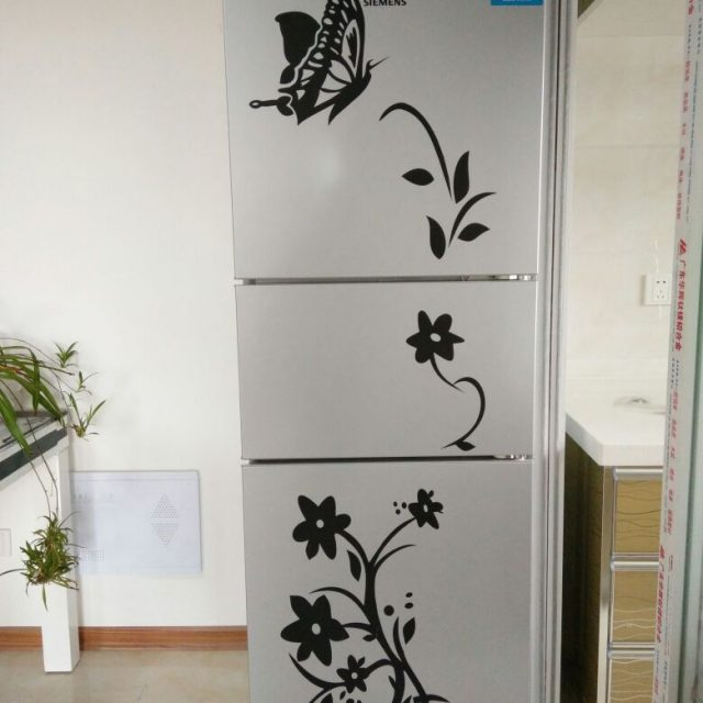 Butterfly Patterned Stickers for Refrigerator