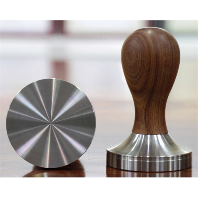 Wooden Handle Espresso Tamper
