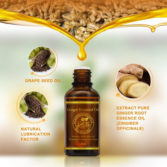 Ginger Body Care Essential Oil