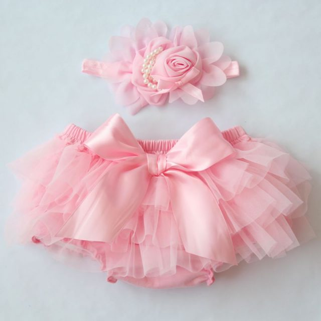 Cute Cotton Flower Shorts for Babies