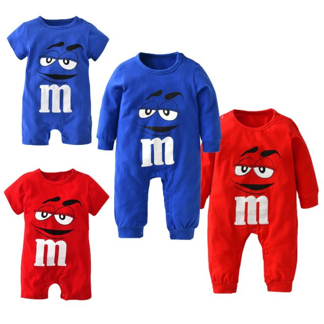 Fashion Colorful Baby's Long Sleeved Jumpsuit