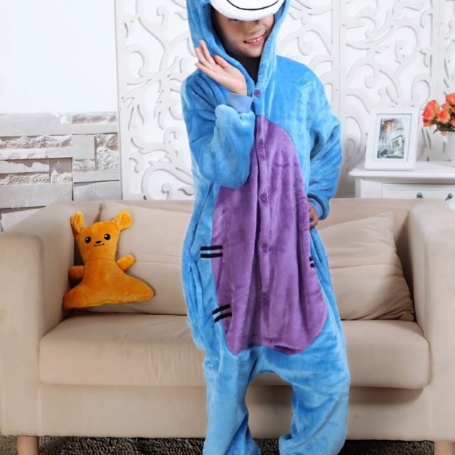 Kid's Cute Rainbow Unicorn Kigurumi
