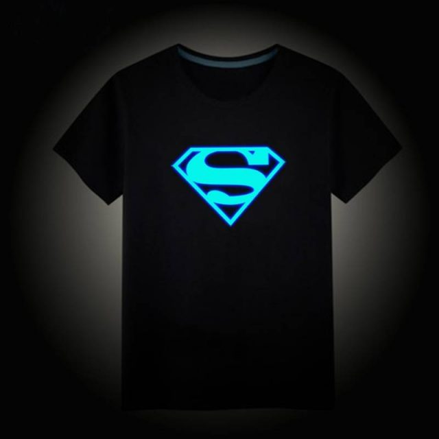 Boy's Luminous Cotton T-Shirt