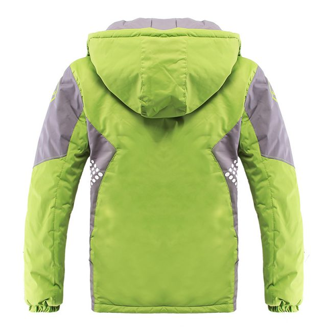 Boy's Warm Waterproof Windproof Coat