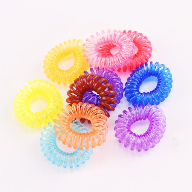 Cute Colorful Scrunchies