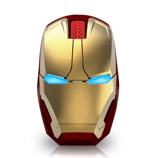 Energy Saving Iron Man Styled Wireless Gaming Mouse