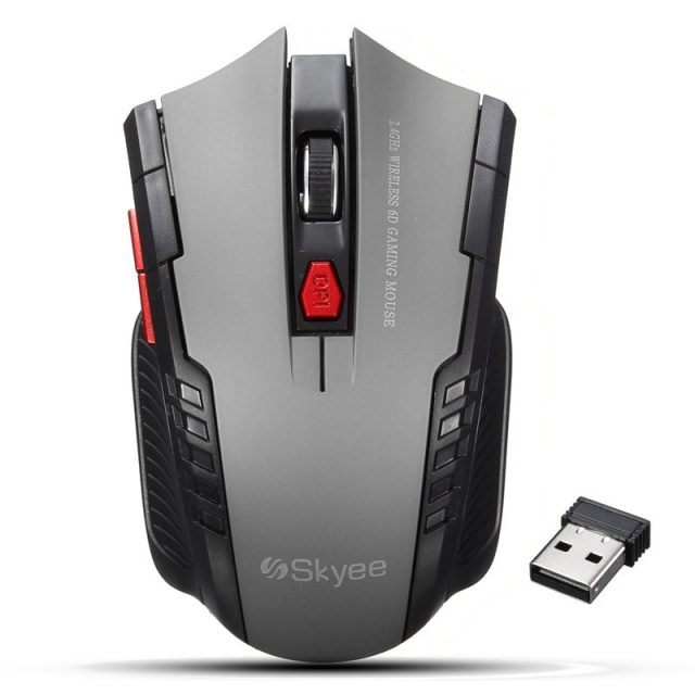 Robot Design Portable Wireless Gaming Mouse