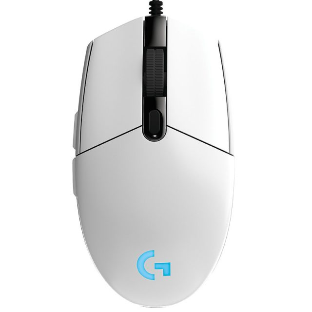 Logitech LED Wired Gaming Mouse