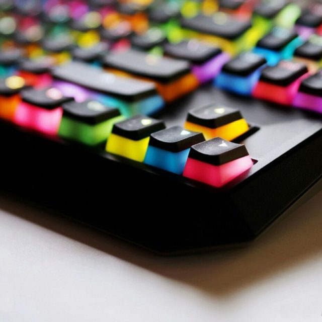 Mechanical Backlight Multicolor Gaming Keyboard