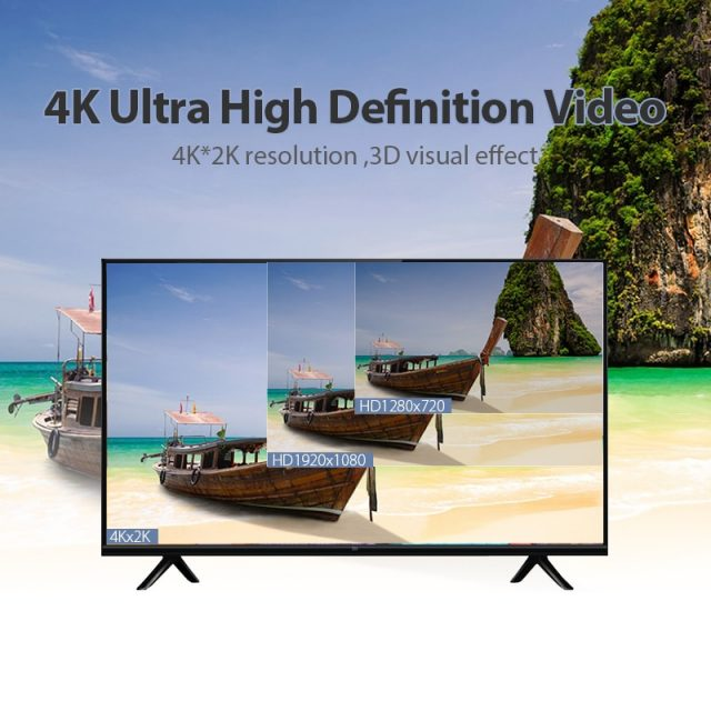 4K HDMI 2.0 3D 60 FPS Cable for TV