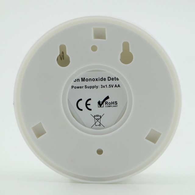 Warning Independent Siren with LCD