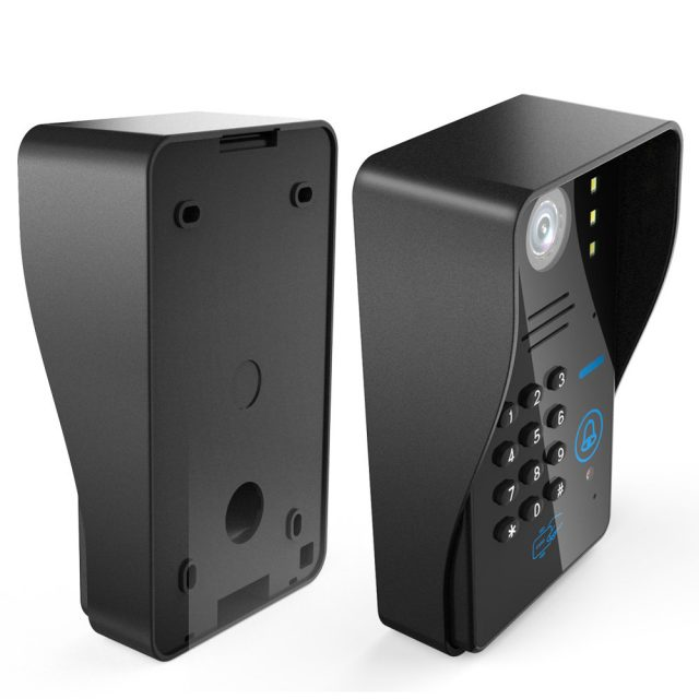 7″ RFID Video Intercom with Lock