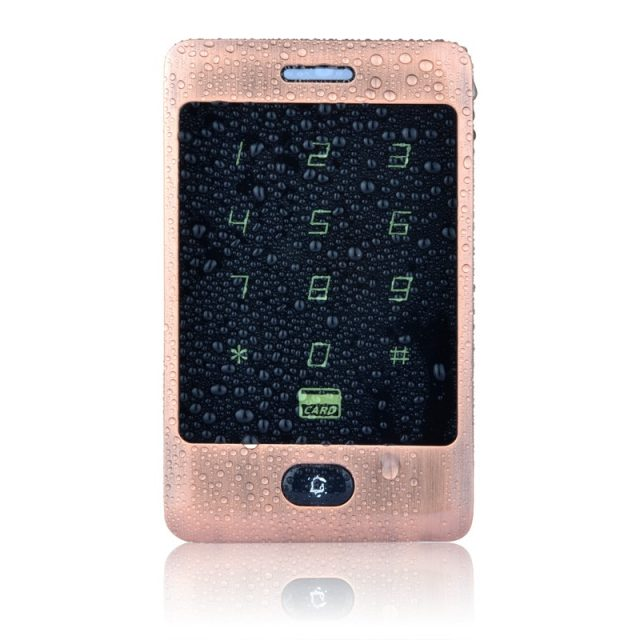 Waterproof Metal Touch Access Panel