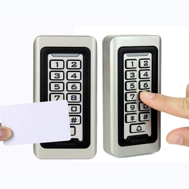 Compact RFID Access Control System