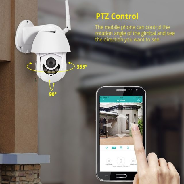 Wireless Waterproof 1080P Wifi Camera