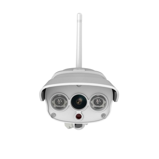 Outdoor Security Night Vision Water-Resistant Wi-Fi Surveillance Camera