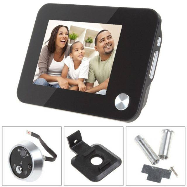 TFT Screen Motion Sensor Door View Camera