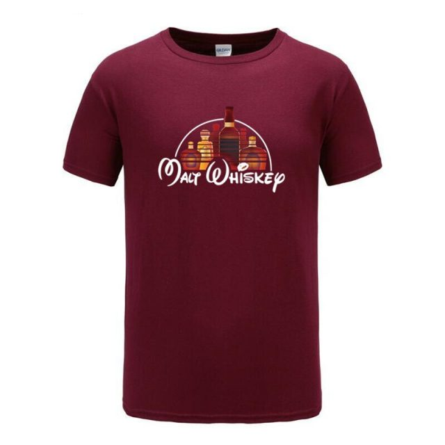 high quality Malt Whiskey The Happiest Drink On Earth T-Shirt for Men
