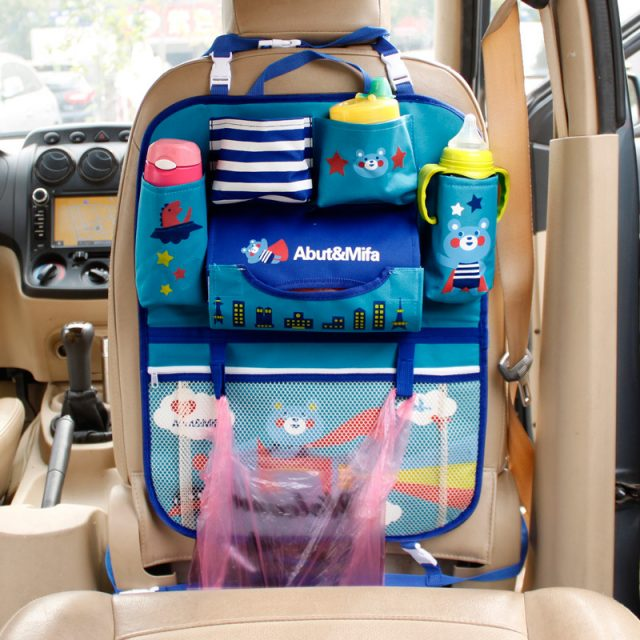 Cartoon Style Car Back Seat Organizer