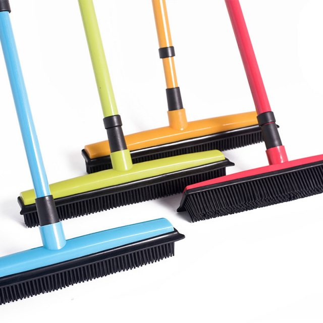 Long Cleaning Rubber Sweeper