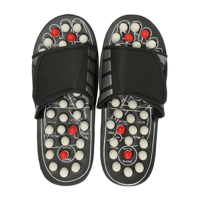 Foot Acupuncture Massage Slippers