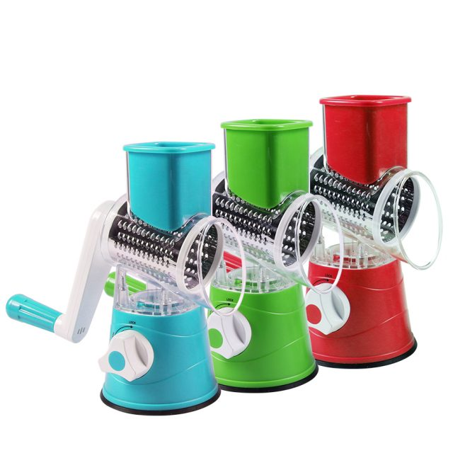 Multifunctional Round Vegetable Grater