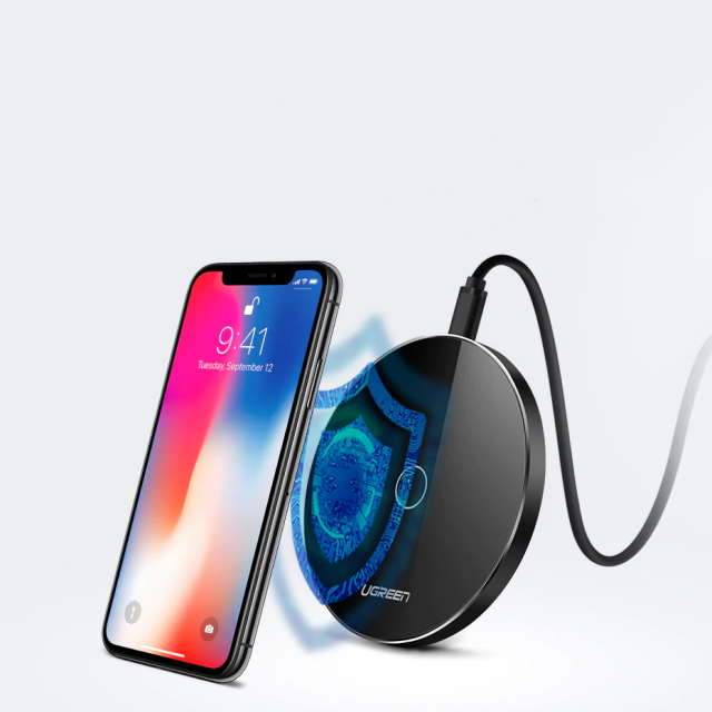 Wireless Qi Charger with Quick Charge Support