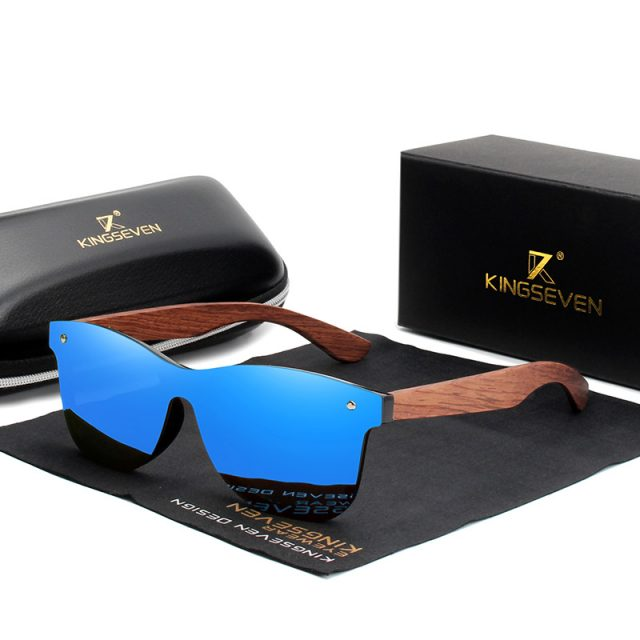 Men's Wooden Sunglasses for Driving