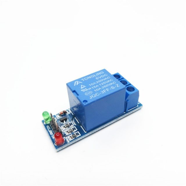 Relay Module with Optocoupler