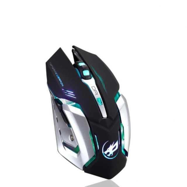 Rechargeable Wireless Silent Gaming Mouse