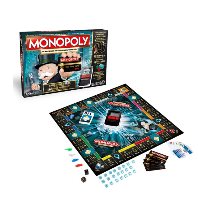 The electronic Monopoly game Adult Family Gaming