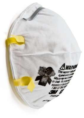 3M N95 8210 Disposable Respirator, MOQ 500 Box